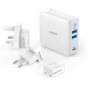 Anker PowerPort III 3-Ports 65W 急速充電器