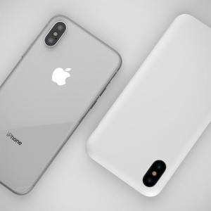 iPhoneX ケース MYNUS マットホワイト appbankstore