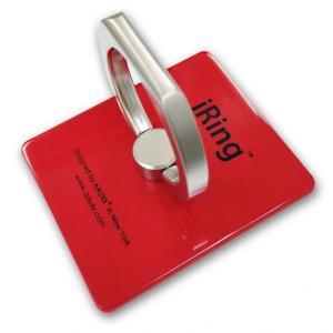 iRing アイリング iPhone落下防止リング&スタンド レッド|appbankstore