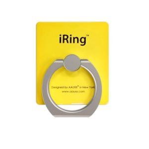 iRing アイリング iPhone落下防止リング&スタンド 吊り下げフックセット イエロー|appbankstore