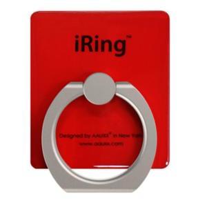 iRing アイリング  プレミアムセット 吊り下げフック付き 落下防止リング&スタンド レッド|appbankstore