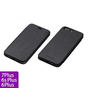 Deff 天然牛革手帳型ケース MASK ブラック iPhone 7 Plus/6s Plus/6 Plus|appbankstore