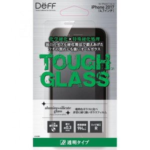 Deff TOUGH GLASS 強化ガラス フチなし透明  通常 iPhone 8/7/6s/6【10月上旬】|appbankstore