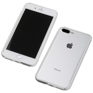 Deff アルミニウム/TPU 軽量バンパー AERO シルバー iPhone 8 Plus/7 Plus/6s Plus/6 Plus|appbankstore