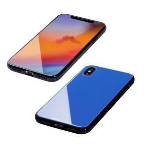 Deff Hybrid Case Etanze サーフブルー iPhone XS/X appbankstore