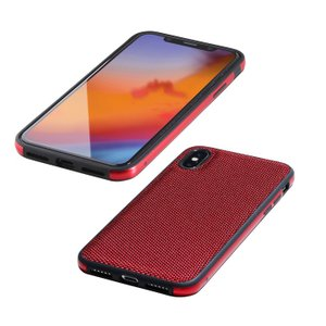 Deff Hybrid Case Etanze ナイロンレッド iPhone XS/X