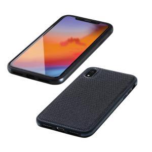 Deff Hybrid Case Etanze ナイロンブラック iPhone XR