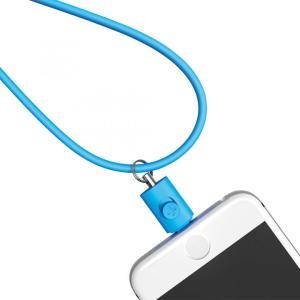 Lightningコネクタ用ネックストラップ ブルー|appbankstore