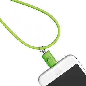 Lightningコネクタ用ネックストラップ グリーン|appbankstore