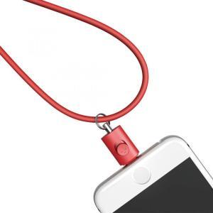 Lightningコネクタ用ネックストラップ レッド|appbankstore