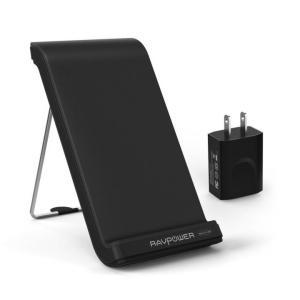 RAVPower Qi ワイヤレス充電器 RP-PC004【9月下旬】|appbankstore