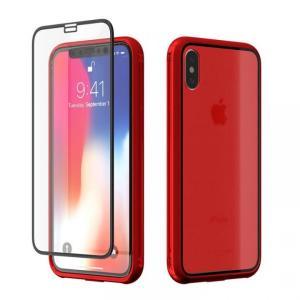 iPhoneX ケース アイフォンX Monolith Crystal X レッド appbankstore