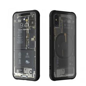 背面強化ガラスケース Eureka Translucent ブラック iPhone X|appbankstore