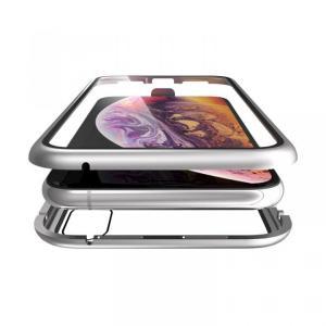 Monolith Alluminio(モノリス アルミニオ)/シルバー 両面強化ガラス+アルミバンパー for iPhone XS/X(7月7日入荷予定) appbankstore