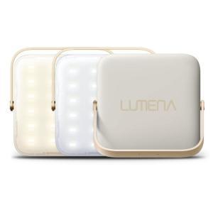 LUMENA 超軽量LEDランタン 超軽量 大容量充電用バッテリー機能 ベージュ appbankstore