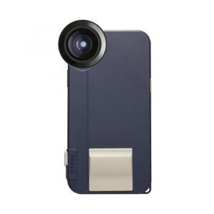 SNAP! X Photographer Set iPhoneX用ケース ネイビー + プレミアムHDワイドレンズ(6月上旬)|appbankstore