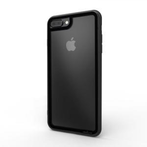 iPhone8 Plus iPhone7 Plus ケース アイフォン8プラス LINKASE CLEAR Gorilla Glass ブラック appbankstore