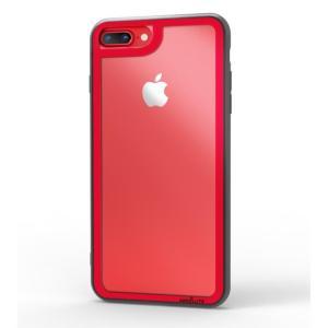 LINKASE CLEAR Gorilla Glass レッド iPhone 8 Plus/7 Plus|appbankstore