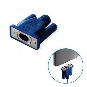 ケーブルフィギュア CABLE MANIA D-Sub15ピン/ブルー|appbankstore