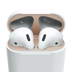 elago AirPods DUST GUARD for AirPods Matte Rose Gold|appbankstore