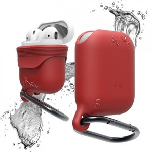elago AirPods WaterProof Hang Case for AirPods Red|appbankstore