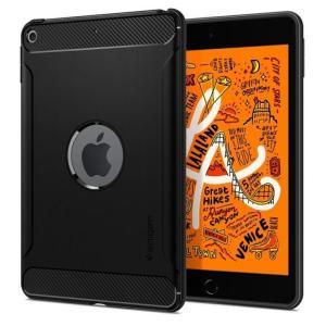 Spigen ケース Rugged Armor iPad mini(2019) ブラック appbankstore