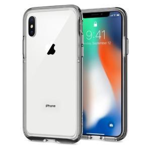 Spigen  iPhone X ケース ネオハイブリッド EX クロームグレイ|appbankstore