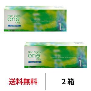 ネオサイトワンデーアクアモイスト 2箱セット 1箱30枚入 アイレ 近視用 ワンデー 送料無料|appeal