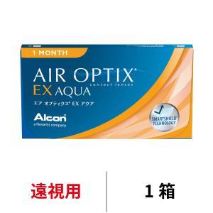 コンタクトレンズ エアオプティクス EXアクア 1ヶ月交換 マンスリー 遠視用 1箱 日本アルコン 旧チバビジョン 21600BZY00383000|appeal