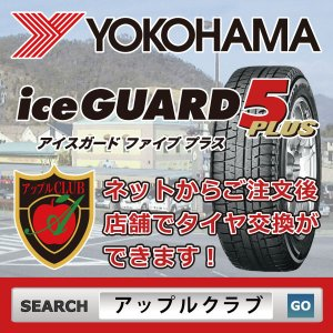 YOKOHAMA ice GUARD 5 PLUS 255/45R18 99Q スタッドレスタイヤ ヨコハマタイヤ アイスガード 新品・正規品|appleclub