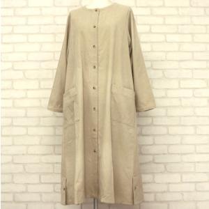 こちらの商品はアウトレット商品、一点物の洋服サンプルです。  一枚でかっこいいロング丈のワンピース。...