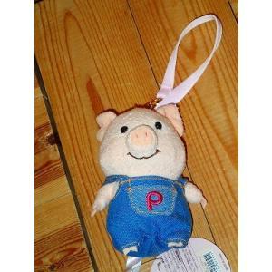 もも 桃 ぷーとん プートン 豚 子豚 こぶた ぶた マスコット パーカー