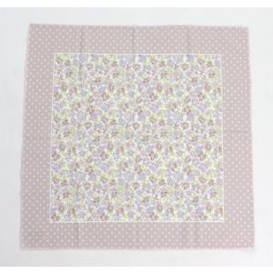 冷感 クールスカーフ ひんやり フラワーブリーズ ピンク  熱中症対策 送料無料|applemint-zakka2