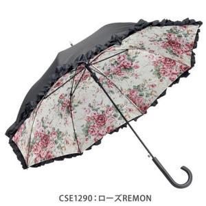 フリル傘 名画シリーズ  晴雨兼用 UVカット おしゃれ レディース 雨晴|applemint-zakka2