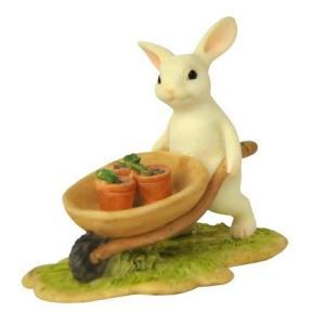 レジン製ウサギ ラビット ガーデン|applemint-zakka2