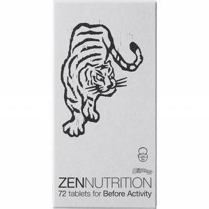ZEN NUTRITION ゼンニュートリション BEFORE  トラ (72粒)  サプリメント ボディーケア スポーツ食品  陸上 ランニング 返品交換不可(180349) applesp