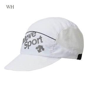決算セール! DESCENTE デサント ランニング ウェア ランニングストレッチキャップ 帽子 2018SS wde(draljc09)  返品交換不可|applesp