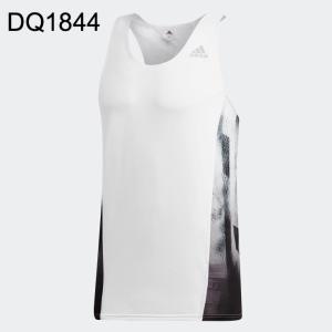 ADIDAS アディダス メンズランニングウェア ランニングシャツ FASTシングレット 2019Q1 wad 196sa(frp66)