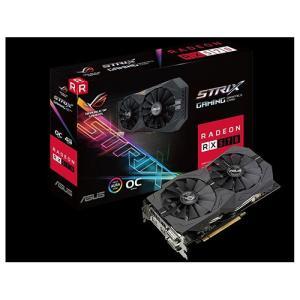 ASUS ROG-STRIX-RX570-O4G-GAMING グラフィックボード ビデオカード Radeon RX 570 PCI Express 3.0 x16