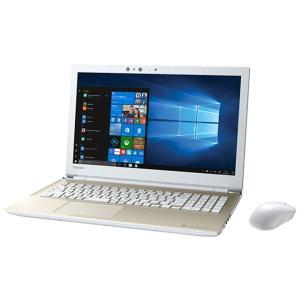 東芝 TOSHIBA ノートパソコン PT55GGP-BEA2 dynabook 2018夏 15.6インチ Win10 Home サテンゴールド office付 i3 8130U 2コア HDD 1TB メモリ 4GB|applied-net