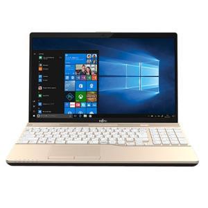 Windowsノート ノートパソコン 富士通 FMV LIFEBOOK AH45/B3 FMVA45B3G Office付 シャンパンゴールド 15.6インチ i3 7130U HDD 1TB Win10Home|applied-net