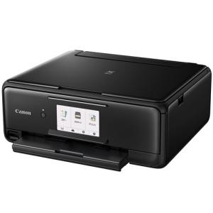 PIXUS TS8130 CANON キヤノン インクジェットプリンタ ブラック 最大用紙サイズ A4 4800x1200dpi 機能 コピー スキャナ