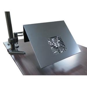 ノートパソコンスタンド ZEsty&NBROS ノートパソコン用アームセット ブラック ARM-NT0120BF|applied-net