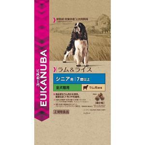 P&G ユーカヌバ ラム&ライスシニア超小粒2.7K [犬用フード]