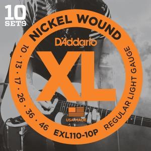 Daddario EXL110-10P R.Light 010-046 [エレキギター弦 10セットパック] aprice