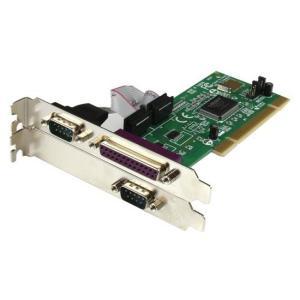 StarTech PCI2S1P [シリアル/パラレル増設 PCIカード(2ポート/1ポート)]|aprice