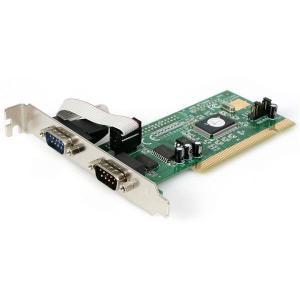 StarTech PCI2S550 [シリアル増設 PCIインターフェースカード(2ポート)]|aprice