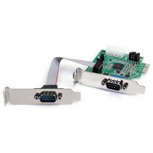 StarTech PEX2S952LP [シリアル増設 ロープロファイルPCI Expressインターフェースカード(2ポート)]|aprice