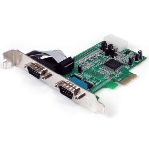 StarTech PEX2S553 [シリアル増設 PCI Expressインターフェースカード(2ポート)]|aprice