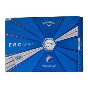 キャロウェイ ERC SOFT ゴルフボール ホワイト 1ダース(12個入り) 日本正規品